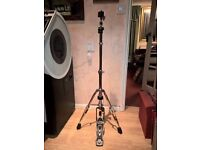 Heavy Duty Hi Hat Stand. Double Braced Legs. As New.