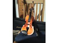 Violin 1/2 size Primavera, Prima 200