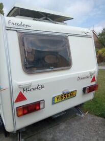Freedom Microlite Discovery LE 2berth Caravan