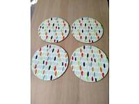 4 Brand New Placemats from Laura Ashley