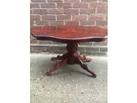 Large solid wooden table