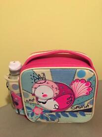 Smash Woot Girls Lunch Bag & Water Bottle Set