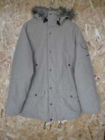 Carhartt coat with fleece fur lined hood