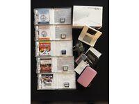 White, Nintendo DS Lite & Games Bundle Original Packaging mint condition
