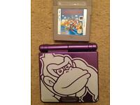 Gameboy Advance Sp + game + charger