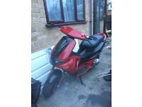 Gilera Runner sp 180 register as 50 project