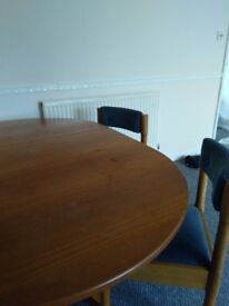 Foldable dining table in good condition