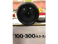 MINOLTA AF 100 - 300/4.5-5.6 Zoom Lens