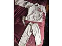 Children's Martial arts gi by Blitz. Aged 5-7 years approx.