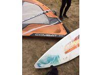 Full Windsurfing kit (fanatic wave 81)