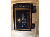 Luxury Hopewell brand : super king mattress (offers soft & medium support) - as new