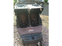 Baby Jogger City Classic Double/twin pushchair/buggy/stroller