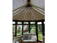 CONSERVATORY BLINDS Appeal Group - Victorian Conservatory RRP £1,600, NOW £400