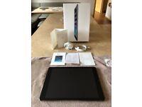 iPad Air 128GB + 4G Cellular (unlocked) Space Grey (immaculate)