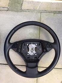 BMW 5 Series E60 E61 steering wheel SE