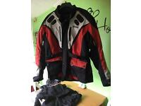 Weise motorcycle jacket