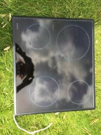 Bosch ceramic hob fully working. Free to good home.