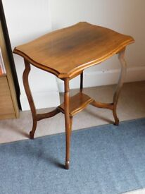 REDUCED Vintage Edwardian Style Occasional Table Medium size
