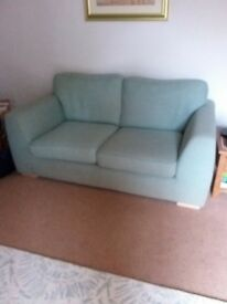 Free 2 seater settee mint green