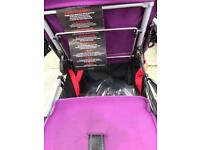 Yoove Caboose stand on tandem pushchair