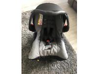 Graco infant car seat & isofix base