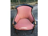Antique style arm chair