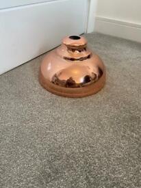 Next copper pendant lampshade