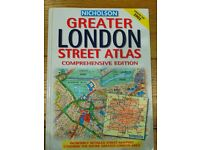 Nicholson Greater LONDON Street Atlas Book (updated for 2002)