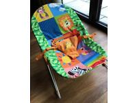 Chad Valley Rainbow Baby Bouncer Chair