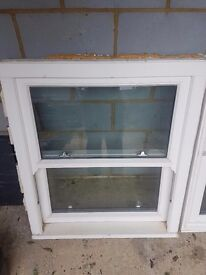 Wooden sliding sash window