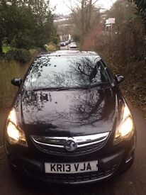 Vauxhall Corsa Limited Edition Black 1.2 Petrol Manual 2013