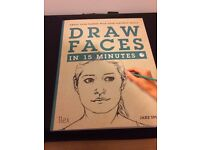Draw Faces In 15 Minutes Art Book