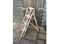 Vintage Hatherley Lattistep Step Ladders