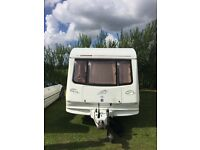 Compass 5 berth touring caravan
