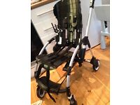 Bugaboo bee plus with extra fabrics