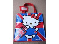 ( New with tag ) Harrods Hello Kitty shopping bag