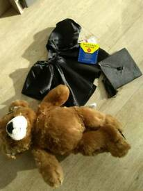 Build a bear with graduation outfit