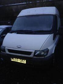2003 ford transit - No Mot - £350 complete or will break for spares