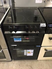 BELLING FS50EDOFC 50 cm Electric Ceramic Cooker - Black
