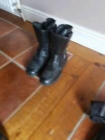 Richa motorcycle boots.