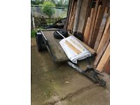 Flatbed trailer for sale £250 useful sturdy trailer