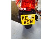 Kymco Vitality 49cc Motorcycle 2006 Red with low mileage