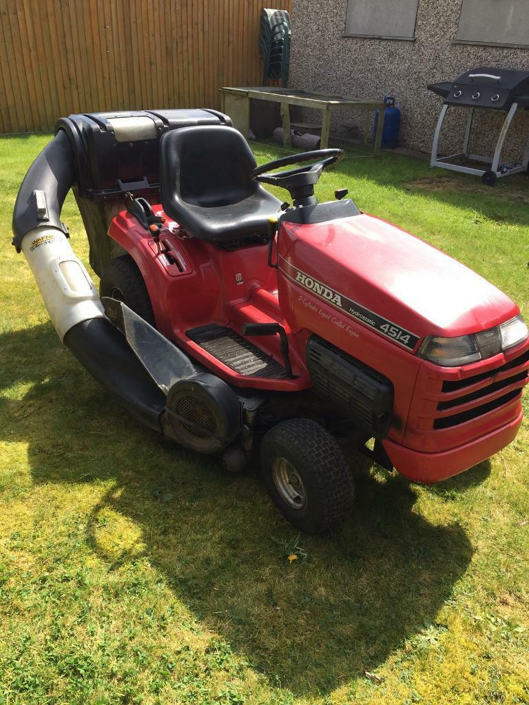 honda 4514 hydrostatic ride on lawn mower in huntingdon cambridgeshire gumtree. Black Bedroom Furniture Sets. Home Design Ideas