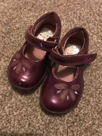 Clark's girls first shoes