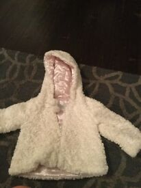 12-18months fur coat