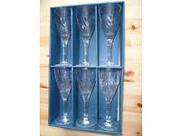 bohemia crystal wine glasses