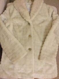 Jessica Simpson Faux Fur Coat