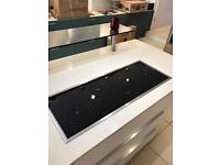 Never Used Neff T43P90N1 Front Control In-Line Design Induction Hob - Stainless Steel Trim