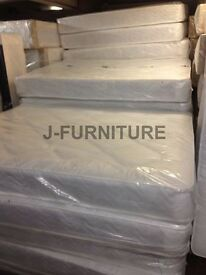 "New Stock! 8.5 "" Good Quality Deep Quilt Mattress.Medium Firm.All Sizes Available.Factory Shop!"
