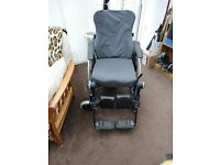 Invacare Action 3 Comfort Wheelchair Electric Wheelchair - Carer Controlled at rear